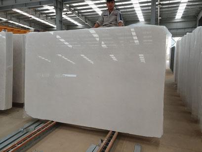 Vietnam White Marble Slabs DIAMOND WHITE