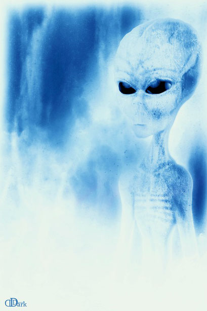 The truth ist out there blue