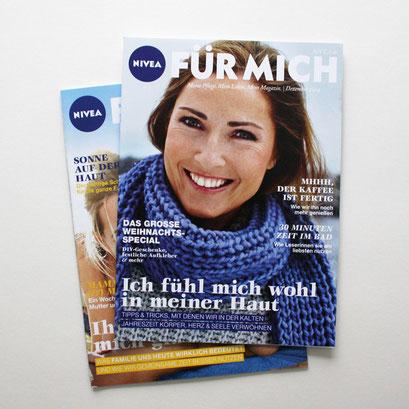 Nivea Kundenmagazin – Für mich