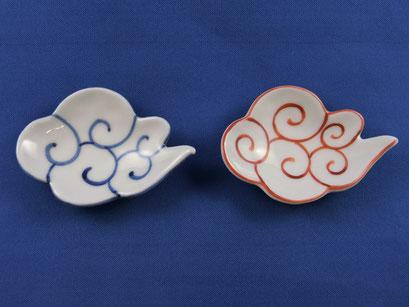 *Kinto'un Clound (pair, red & blue)