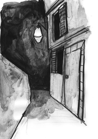 Gasse und Nacht- Popescu