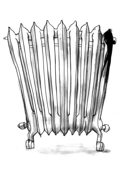 Heizkörper- Darabant