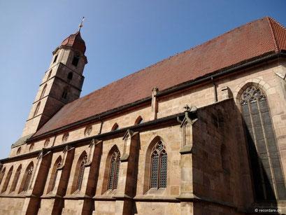 Kirchenschiff Trinitatiskirche