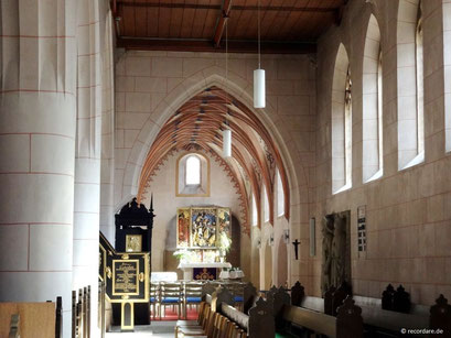 Blick zur Taufkapelle