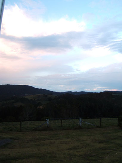 morgens in Dorrigo