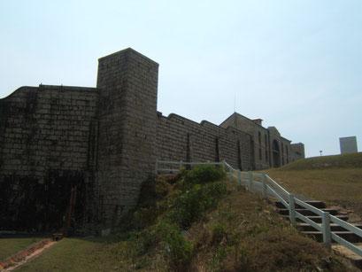 das vermutlich erste steingebäude an der ostküste