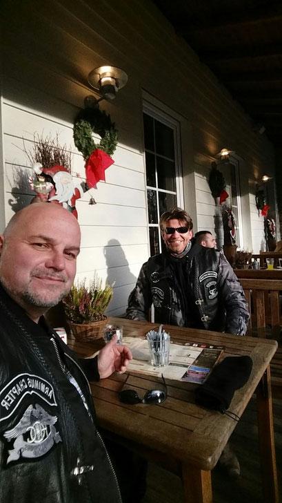 Ausfahrt im Dezember Lake Side Inn, Haltern am See