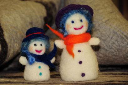 Mama Frost und Lilly Frost