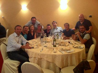 I Segretari Provinciali della Toscana con il Segretario Regionale Toscana