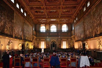 Palazzo vecchio Salone Cinquecento