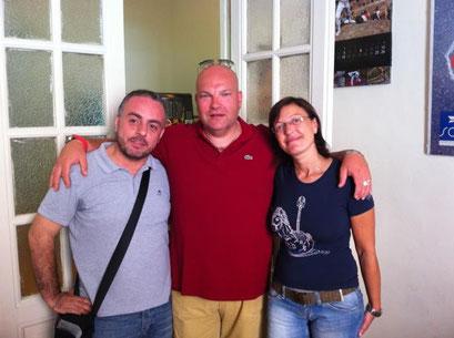 Massimo Montebove, Andrea Carobbi Corso e Michela Di Carlo