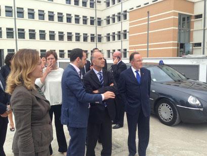 Sindaco, Prefetto, On Bini, On Bocci, Presidente Provincia