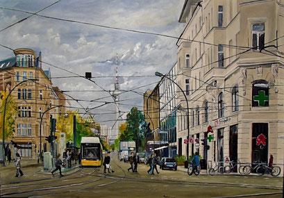 Oranienburger Straße, Berlin - Mitte, 100x70 cm, 2018