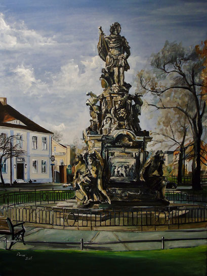 Der Große Kurfürst, Rathenow, 60x80 cm, 2016 (verk.)