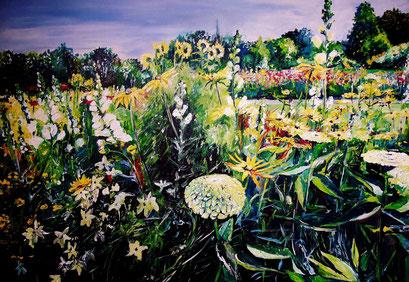 Sommer im Optikpark, Rathenow, 100x70 cm, 2015