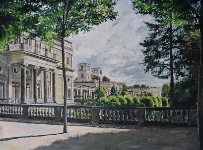 Das Orangerieschloss, Potsdam Park Sanssouci, 120x90 cm, 2019 (verk.)