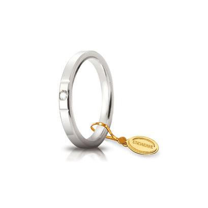 Cerchio di luce con diamante
