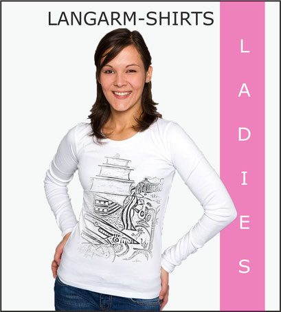 Damen Langarm-Shirts