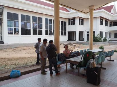 Warten auf das Visum - Taxifahrer, Sam und Gitti