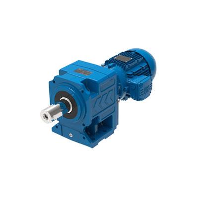 Moto-reductor coaxial eje macho diámetro WEG