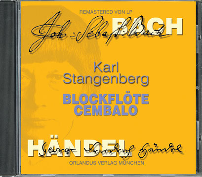 Karl Stangenberg: Blockflöte Cembalo