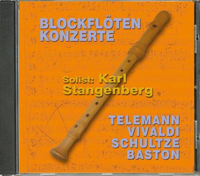 Karl Stangenberg: Blockflöten Konzerte