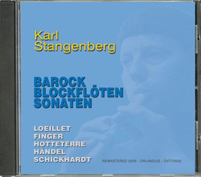 Karl Stangenberg: Barock Blockflöten Sonaten