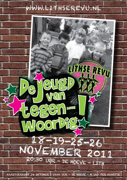 Ontwerp poster Lithse Revu 2011