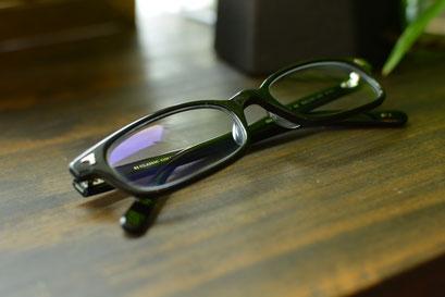 フレーム:BJ CLASSIC COLLECTION P-511  税抜28,000円 レンズ:Ito Lens 1.60薄型内面非球面レンズ 税抜17,000円 仕上がり価格 税抜45,000円