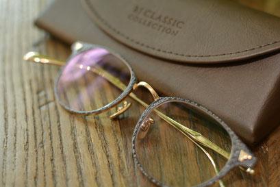 フレーム:BJ CLASSIC COLLECTION M-548L LT 税抜40,000円 レンズ:HOYA 1.60薄型非球面レンズ 税抜8,000円 仕上がり価格 税抜48,000円