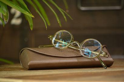 フレーム:BJ CLASSIC COLLECTION P-608N  税抜28,000円 レンズ:Ito Lens 1.74両面非球面レンズ 税抜22,000円→サービス価格 15,000円 仕上がり価格 税抜43,000円