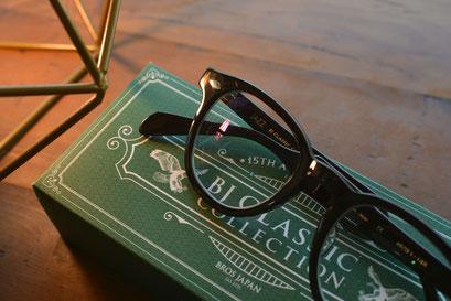 フレーム:BJ CLASSIC COLLECTION JAZZ 税抜36,000円 レンズ:HOYA 1.67薄型非球面レンズ 税抜10,000円 仕上がり価格 税抜46,000円