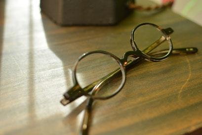 フレーム:BJ CLASSIC COLLECTION P-608 税抜28,000円 レンズ:Ito Lens 1.60内面非球面レンズ 税抜17,000円 仕上がり価格 税抜45,000円
