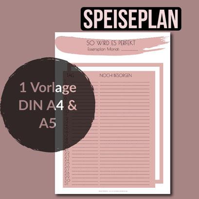 Familienplaner Planer für Familien