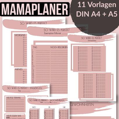 Planer für Mamas Mamaplaner