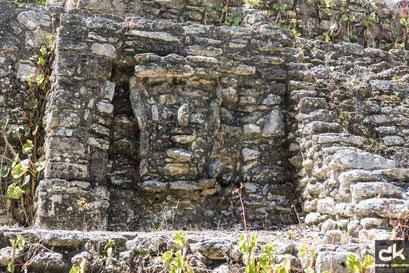 Die Ruinen von Dzibanché