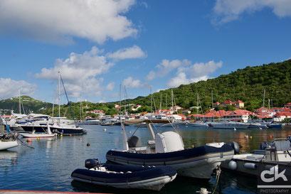 Der Hafen von Gustavia, St. Barth