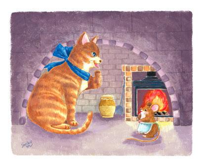 『猫とねずみ』