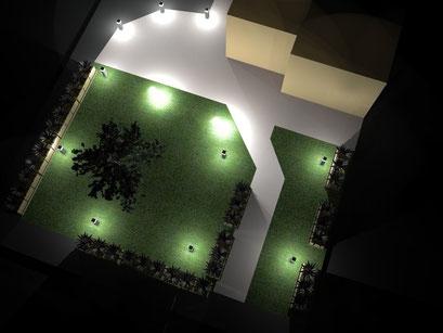 Master srl - Impianti elettrici - Milano - ILLUMINOTECNICA - Illuminazione da esterno e giardino