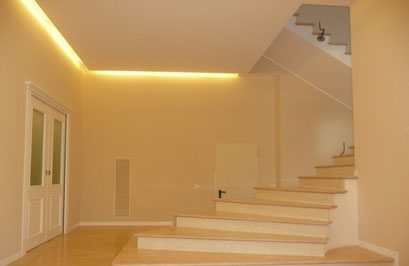 Master srl - Impianti elettrici - Milano - ILLUMINOTECNICA - Illuminazione interni