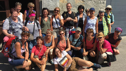 Reise ins Lavaux/Montreux