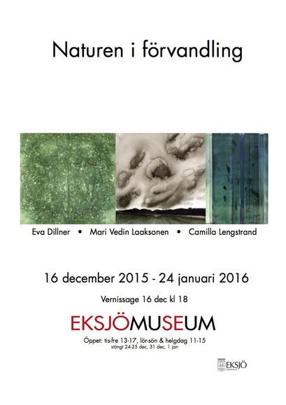 Naturen i förvandling, Eksjö museum 2015