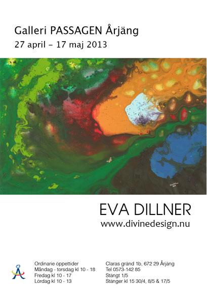Årjäng Art Gallery solo show 2013