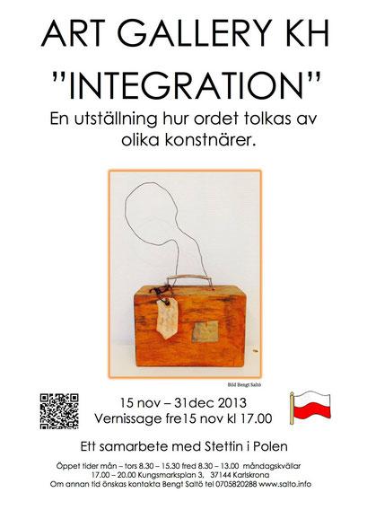 Integration, group show, Galleri KH, Karlskrona 2013