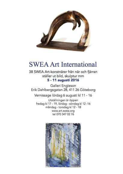Group show, SWEA Art Int'l, Galleri Engleson, Gothenburg 2016