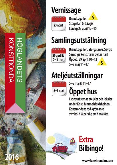 Höglandets konstronda 2016