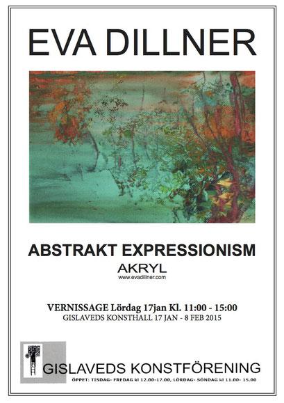 Abstrakt expressionism, Gislaveds konstförening 2015