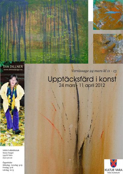 Upptäcktsfärd i konst, Vara Art Gallery 2012