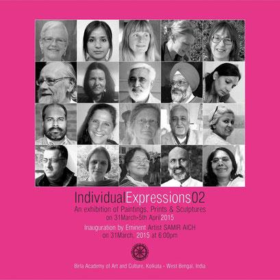 Individual Expressions 02, Birla Academy of Fine Arts, Kolkata, India 2015