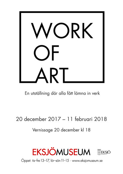 Work of Art, Group Show at Eksjö Museum 2017